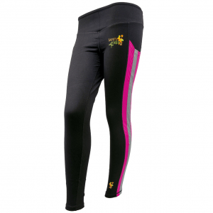 Womens Hi Visibility Pink Leggings (1)
