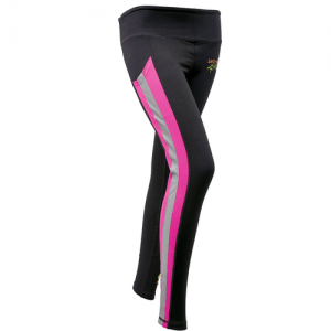 Womens Hi Visibility Pink Leggings (2)