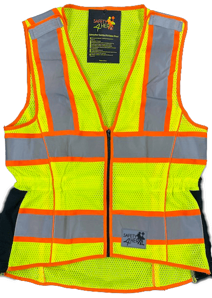 Safety4her Comfort Fit Class 2 Safety Vest 1