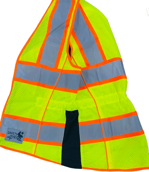 Safety4her Comfort Fit Class 2 Safety Vest 3